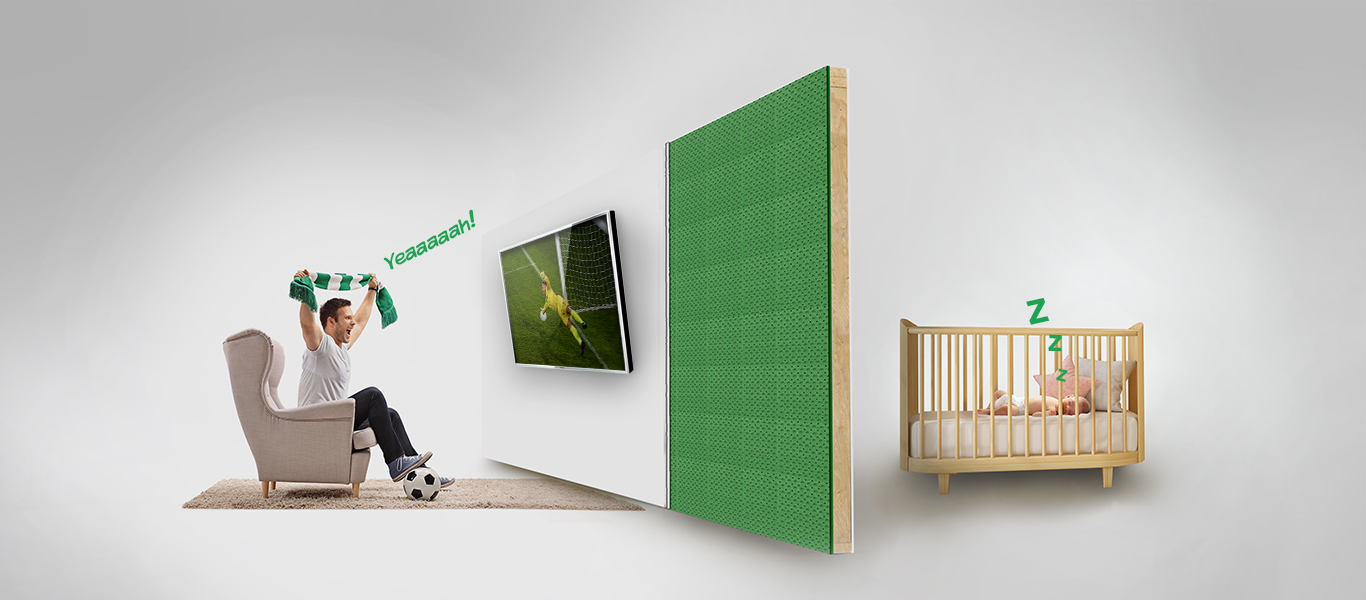 Exceptional <br/>Soundproofing
